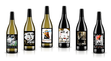 Massalto pure and powerful Washington Wine bottle lineup
