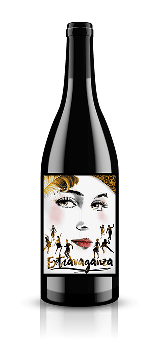 Extravaganza Cinsault Washington Wine Bottle