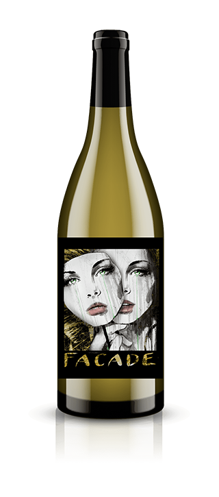 Facade White Pinot Noir Washington Wine Bottle