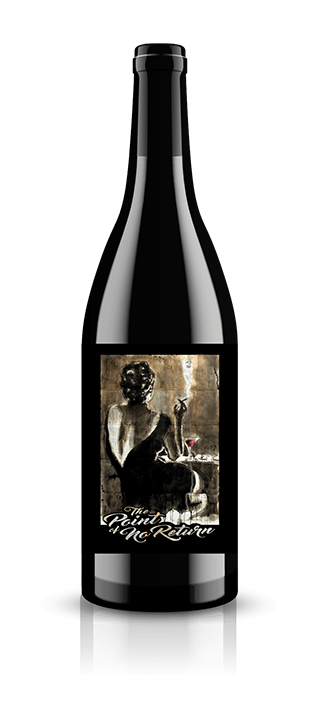 Point of No Return Syrah Grenache Mourvedre Washington Wine Bottle