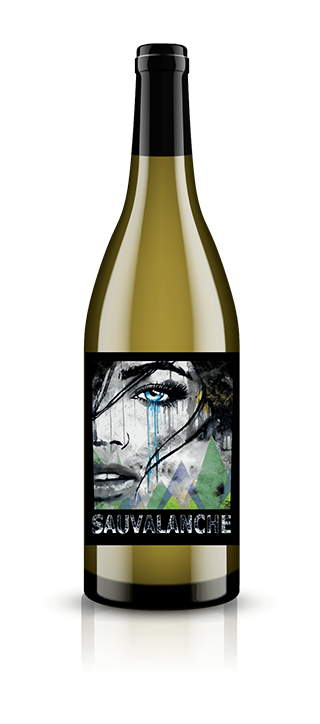 Sauvalanche Chenin Blanc Sauvignon Blanc Washington Wine Bottle